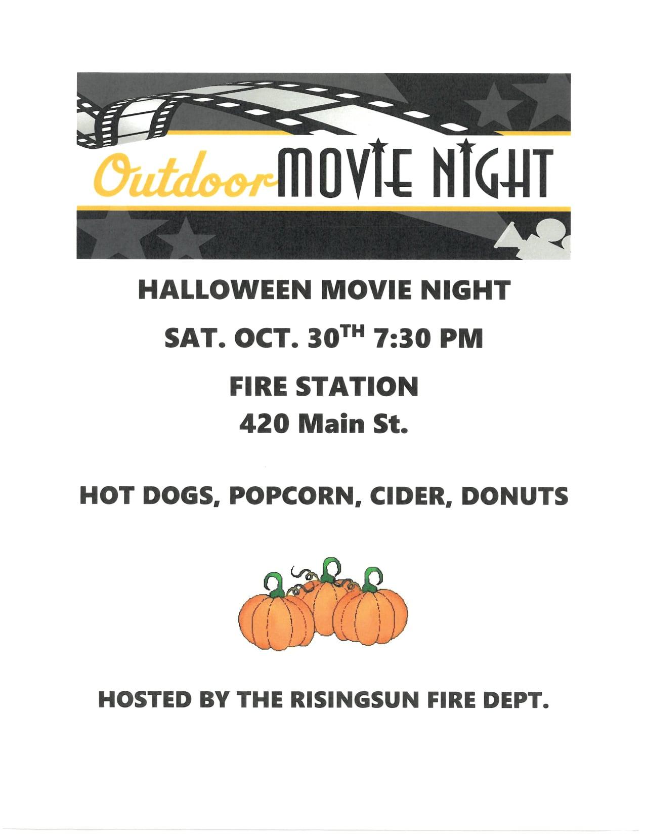 Fire Department Movie Night